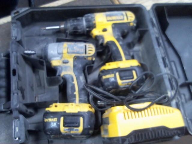 DEWALT 18V Cordless Drill & Impact Combo DCK265L 18 volt
