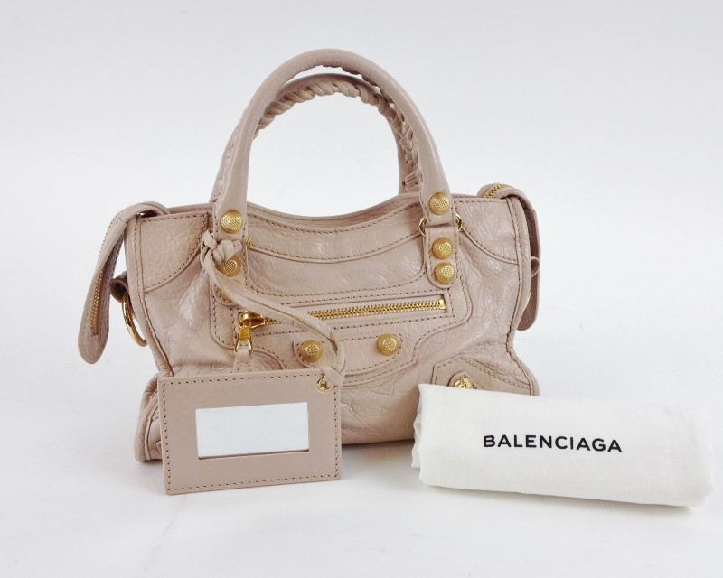 BALENCIAGA ARENA GIANT 12 MINI CITY HANDBAG