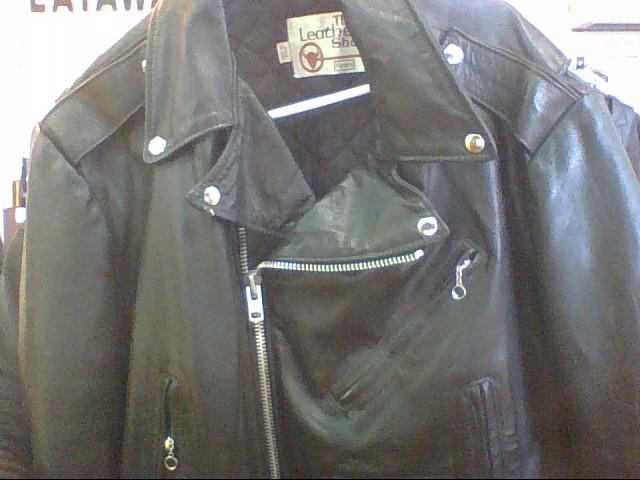 SEARS Clothing BLACK LEATHER JACKET