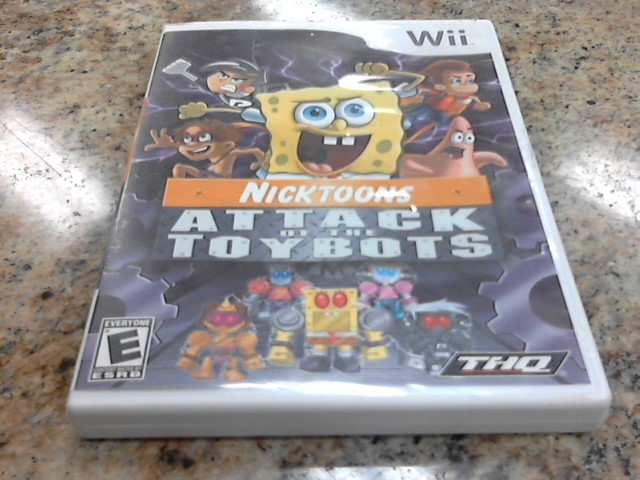 NINTENDO Nintendo DS Game NICKTOONS ATTACK OF THE TOYBOTS