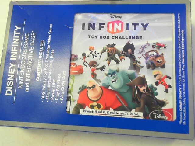DISNEY Video Game Accessory INFINITY 3DS
