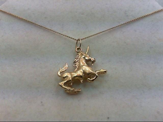 Gold Pendant 14K Yellow Gold 9.4g