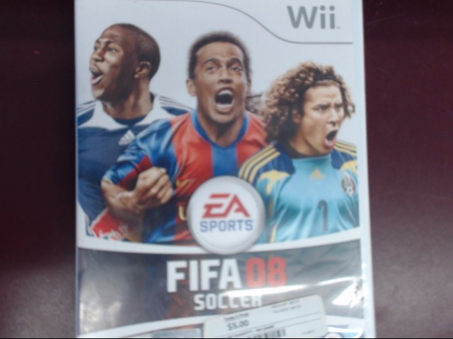 NINTENDO WII FIFA 08 SOCCER WII