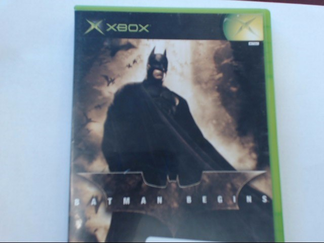 XBOX - BATMAN BEGINS