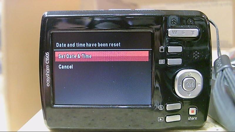 Preowned Kodak digital Camera C1505