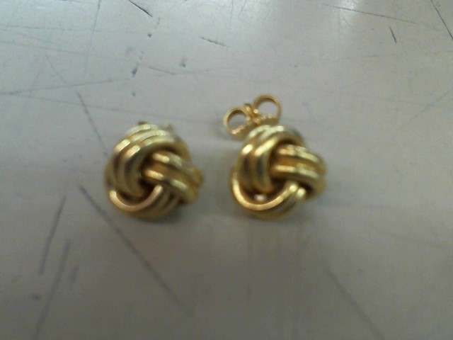 Gold Earrings 18K Yellow Gold 7.8g
