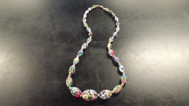 "24"" Necklace/Pendant Antique Stainless 57.1dwt"