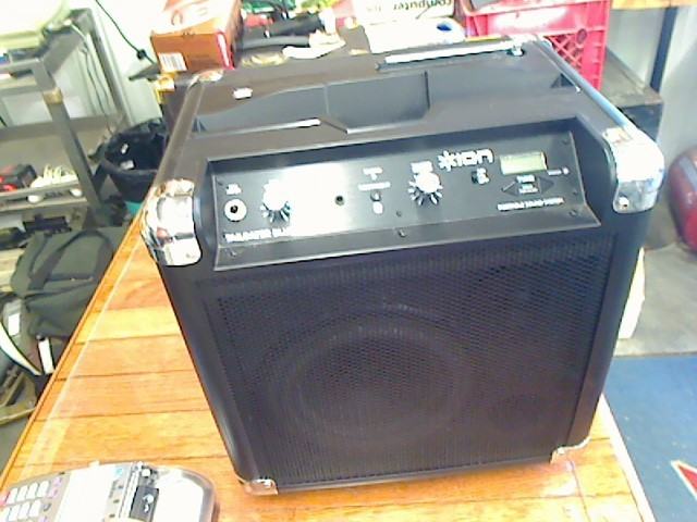 ION DJ Equipment TAILGATER BLUETOOTH
