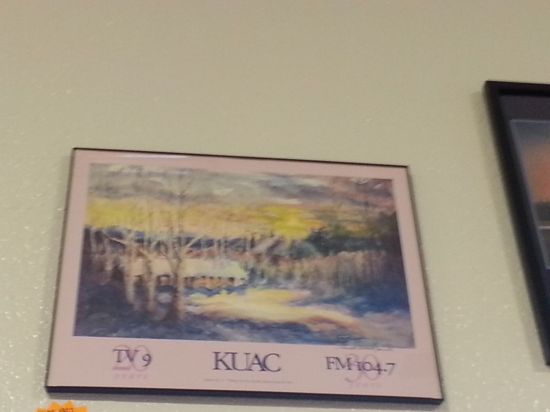 "KUAC 1992 ""WINTER SUN"" SIGNED BY NEVILLE ABBOTT JACOBS"