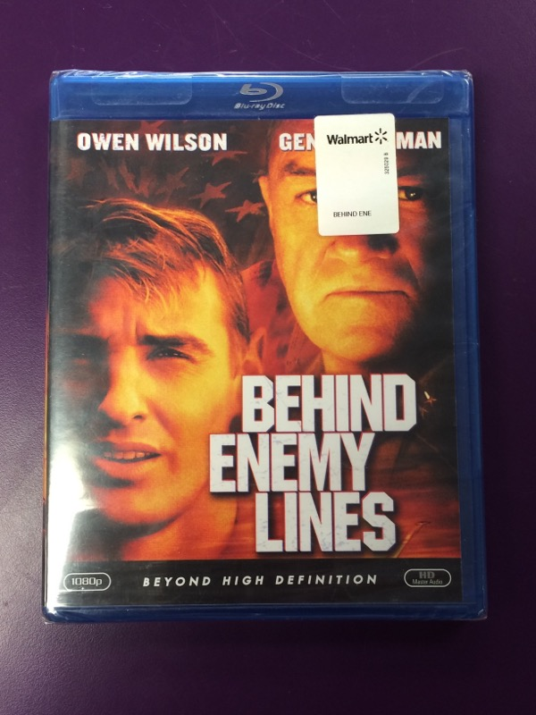 Behind Enemy Lines - (Blu Ray, 2009) - Factory Sealed!