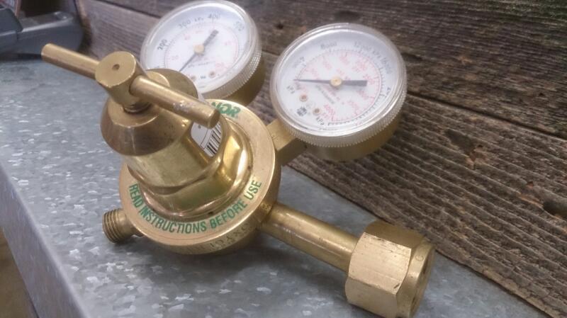 randnor acetylene gauge