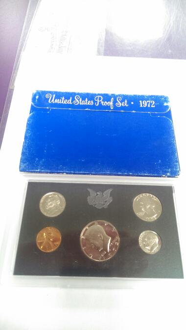 1972 UNITED STATES PROOF SET