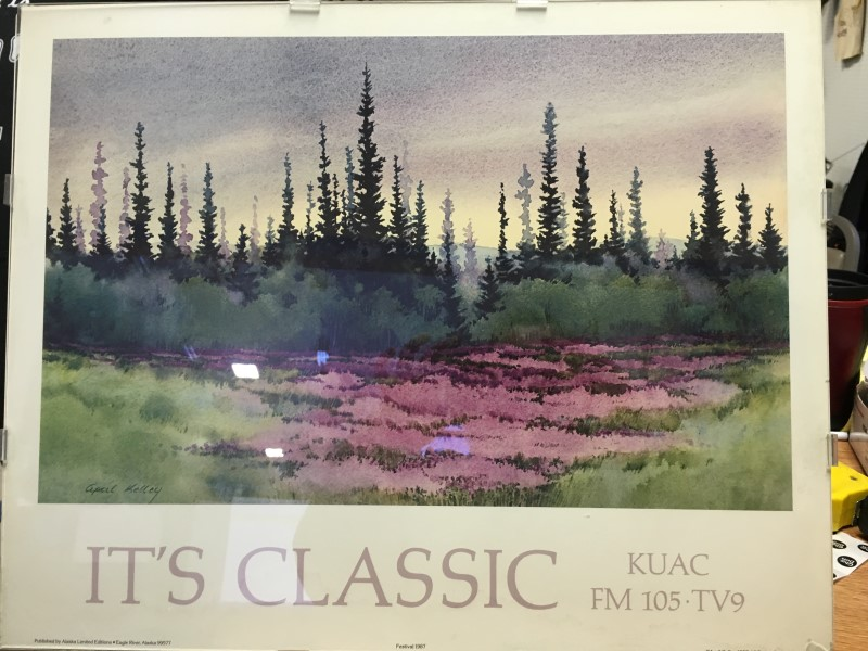 """IT'S CLASSIC"" KUAC- APRIL KELLEY 1987"