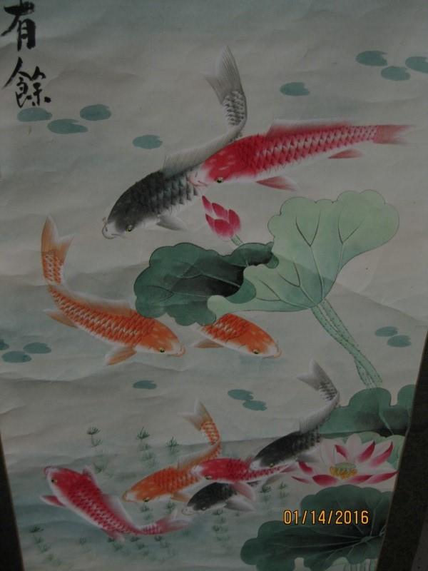 ASIAN FUSION Print SCROLL