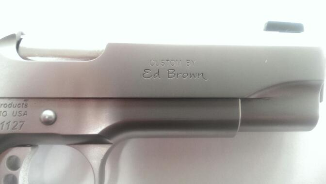ED BROWN Pistol KOBRA CARRY