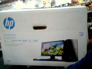 HEWLETT PACKARD PC Desktop 110-023WB