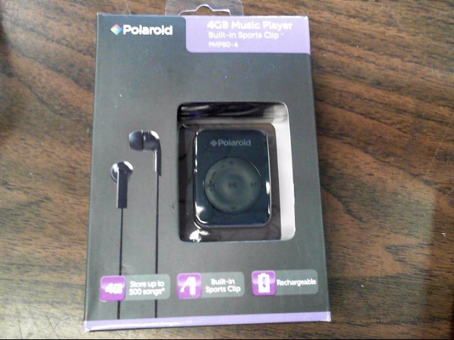 POLAROID MP3 PMP80-4 MP3 PLAYER
