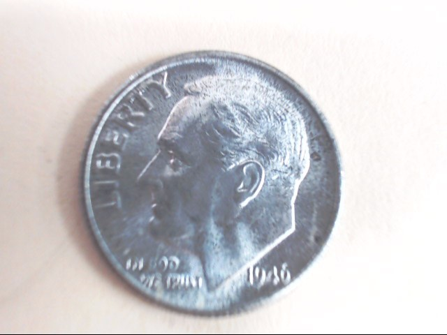 UNITED STATES SILVER  ROOSEVELT DIME 1946 S