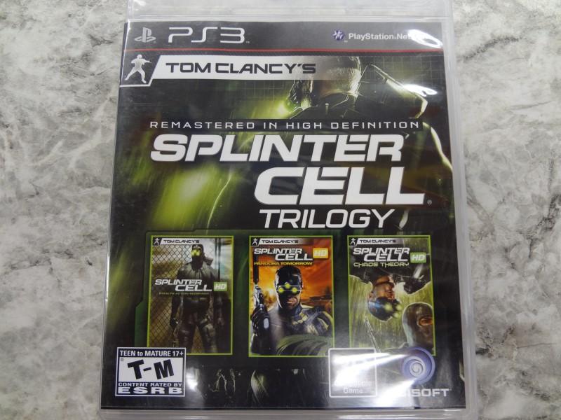 SPLINTER CELL TRILOGY FOR PS3