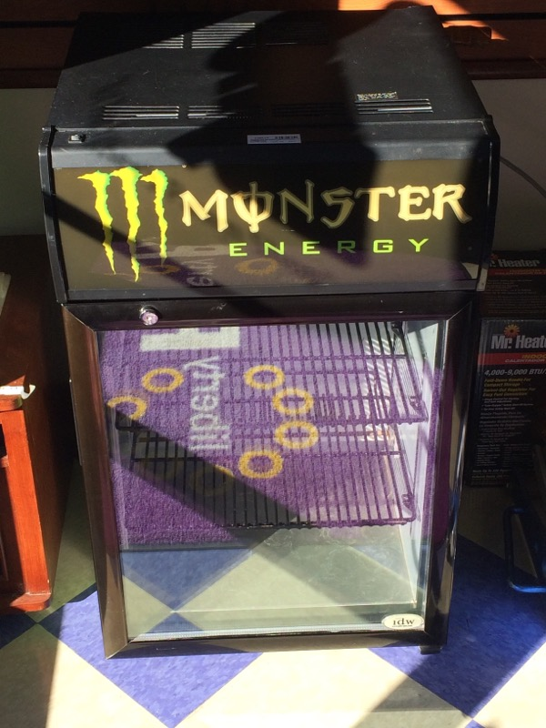 Monster Energy Mini-Fridge
