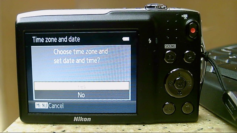 AS-IS Nikon Digital Camera COOLPIX S3200