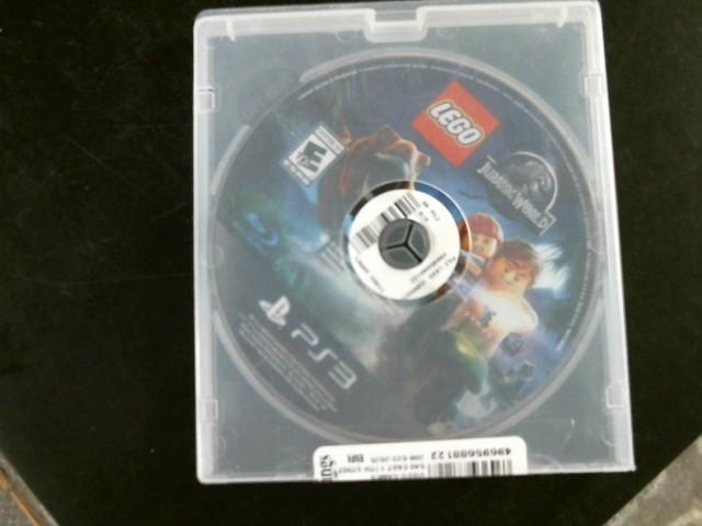 SONY Sony PlayStation 3 Game LEGO JURASSIC WORLD PS3