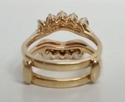 2Pc. Diamond Wedding Set 14KT