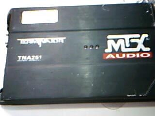 MTX AUDIO Car Amplifier TERMINATOR TNA251 250 Watt Mono AMP