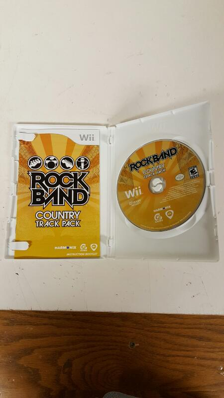 Rock Band: Country Track Pack (Nintendo Wii, 2009) - FREE SHIPPING
