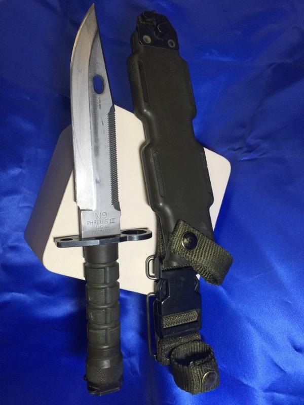 M9 PHROBIS Combat Knife BAYONET