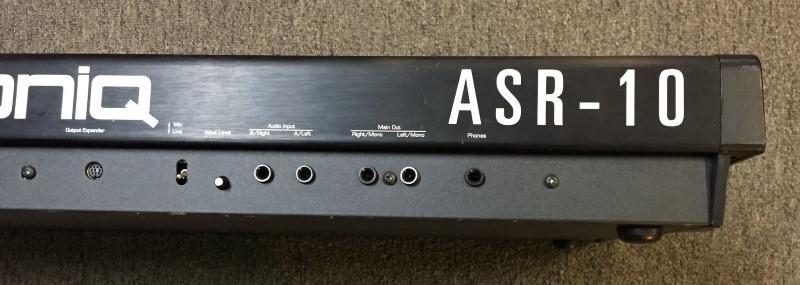 ENSONIQ Keyboards/MIDI Equipment ASR10