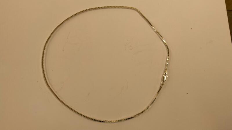 Silver Chain 925 Silver 2.68dwt