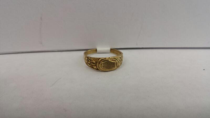 "10k Yellow Gold ""Baby"" Ring"