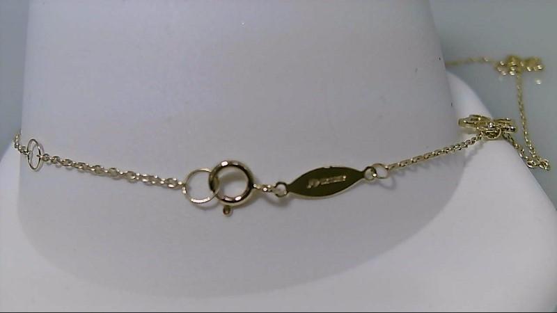 """10"""" Gold Fashion Bracelet 10K Yellow Gold 1.8g"""