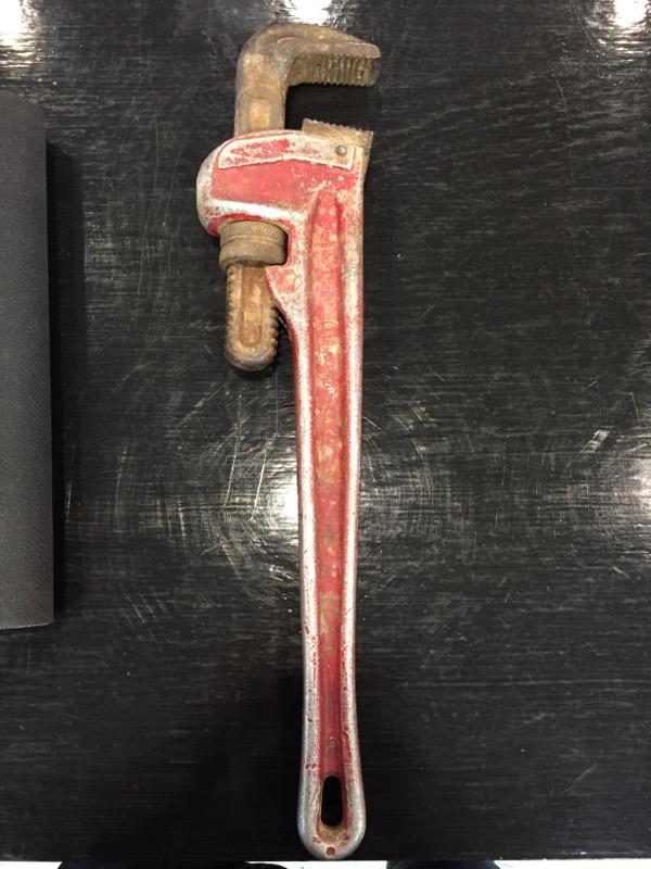 "RIDGID Wrench 818 18"" ALUMINUM PIPE WRENCH"
