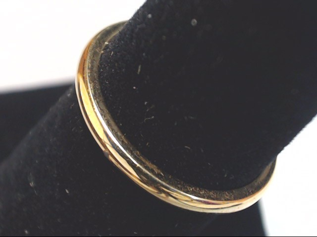 Lady's Gold Wedding Band 18K Yellow Gold 2.2g Size:5.8