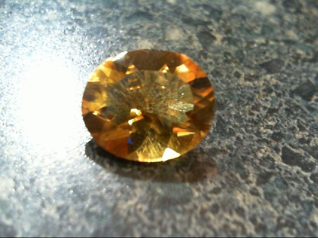 Citrine Colored Melee 0.76g