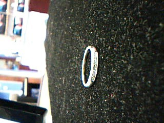 Lady's Diamond Wedding Band 8 Diamonds .48 Carat T.W. 14K White Gold 2.04g