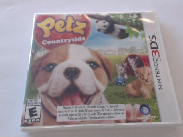 NINTENDO 3DS PETZ COUNTRYSIDE