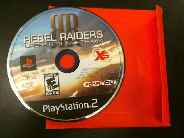 SONY Sony PlayStation 2 Game PS2 REBEL RAIDERS