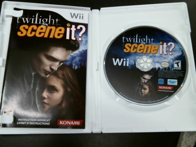 NINTENDO Nintendo Wii Game WII TWILIGHT SCENE IT
