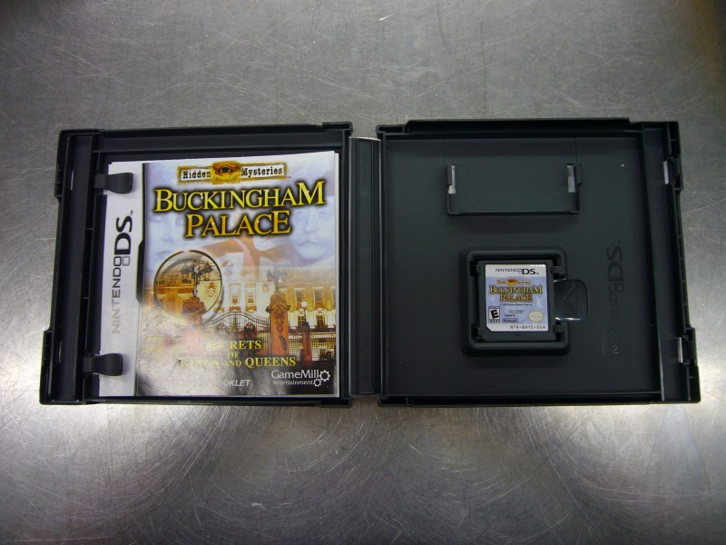 NINTENDO DS Game HIDDEN MYSTERIES: BUCKINGHAM PALACE