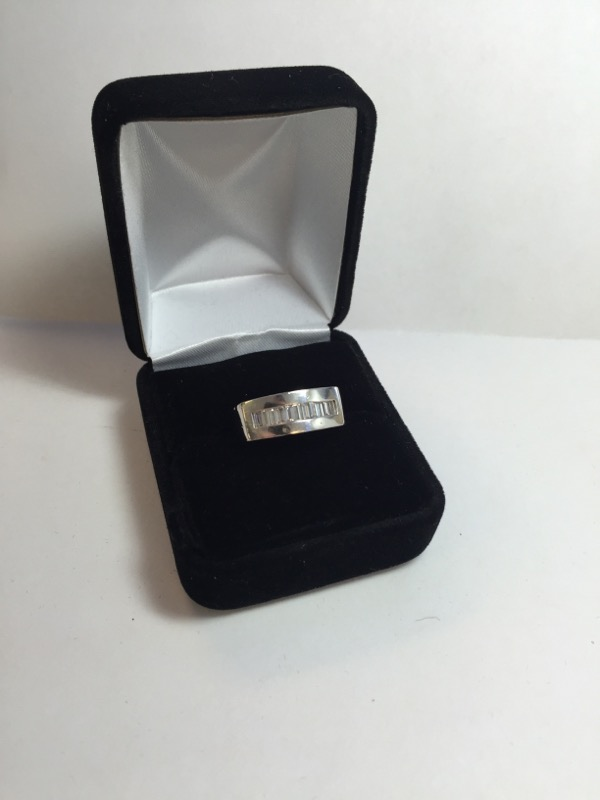 Lady's Platinum Diamond Fashion 11 Diamonds .66 Carat T.W. 950 Platinum 7.2dwt