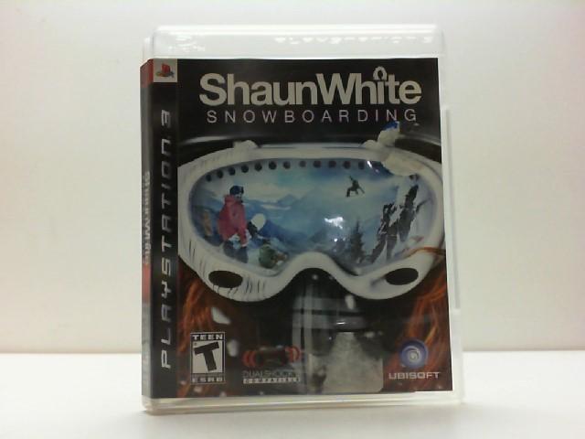 SONY Sony PlayStation 3 Game SHAUN WHITE SNOWBOARDING PS3