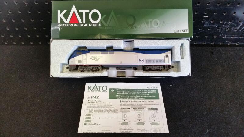 Kato Trains GE P42 Amtrak Phase Vb #68 | #37-6101