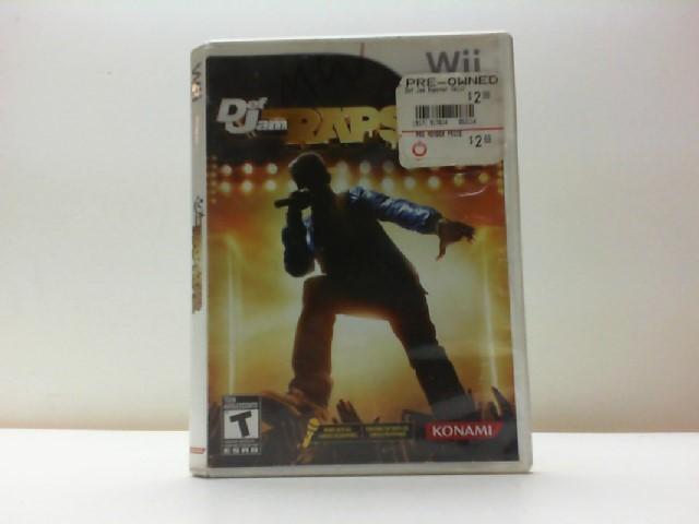 NINTENDO Nintendo Wii Game DEF JAM RAPSTAR