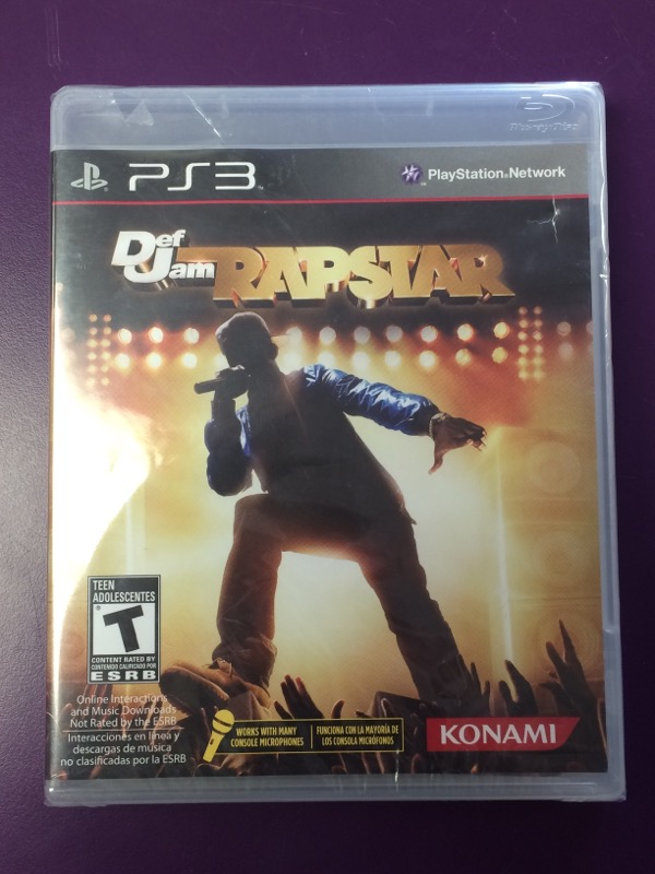 Def Jam Rapstar - (Sony Playstation 3, 2010) PS3 - Factory Sealed!