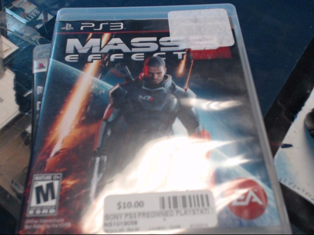 SONY PS3 MASS EFFECT