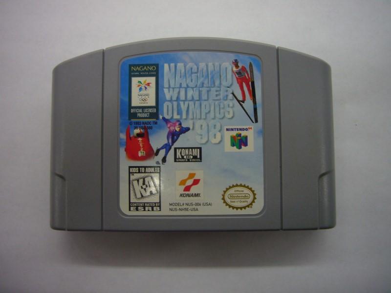 NINTENDO 64 Game NAGANO WINTER OLYMPICS 98 *CARTRIDGE ONLY*