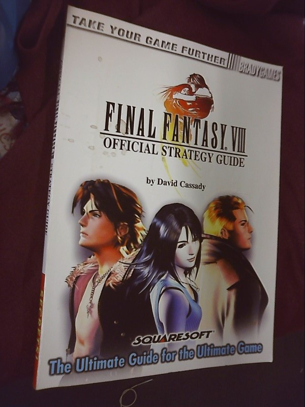 BRADY GAMES Guide  FINAL FANTASY VIII STRATEGY GUIDE